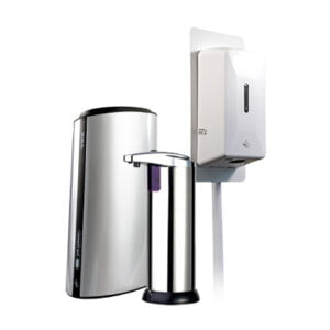 Automatic disinfection dispensers